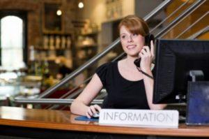 erster Arbeitstag - Telefonservice von Mobile Office