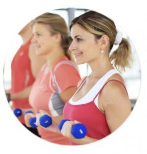 Telefonannahme für Fitness-Trainer