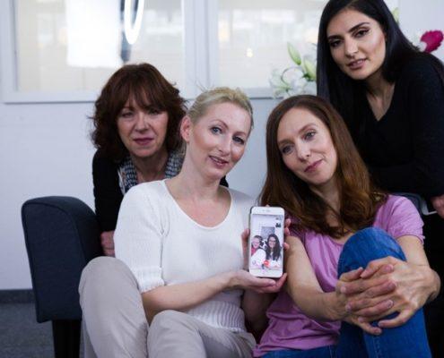 Team Fotoshooting in Stuttgart - Mobile Office Telefonservice