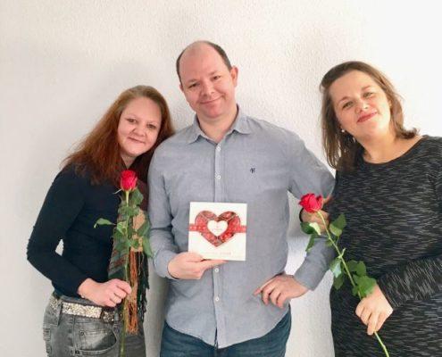 Valentinstag - Mobile Office Telefonservice
