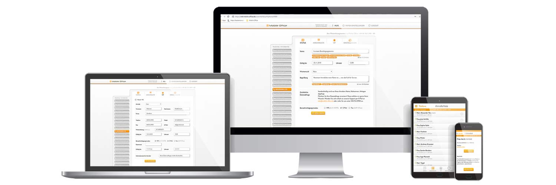 Mobile Office Telefonservice App