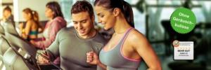 Mobile Office Telefonannahme für Fitnesstrainer